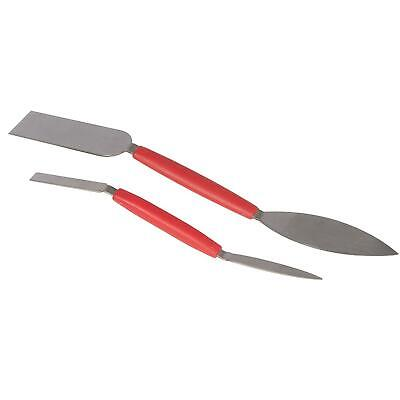 "Barnwell Small Leaf and Square Plastering Tool 30mm 1 3//16/"" Wide Stainless Steel"