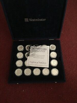The United States 50 State Quarter Coin Collection Platinum
