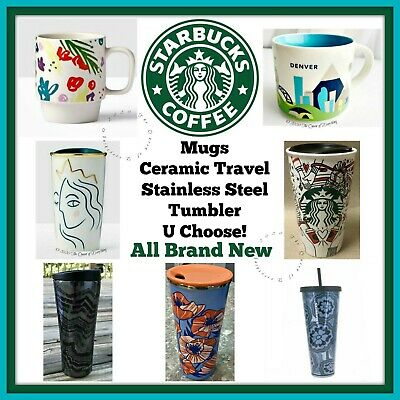 Buy 1 Get 1 25% OFF Starbucks Coffee Tumbler Stainless Steel Ceramic Hot Cold