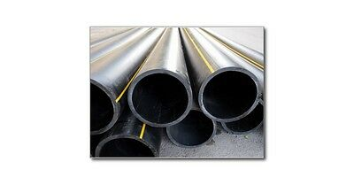 """18"""" dark grey pvc pipe 0.937 thick 1120 Type I Grade schedule 80 USA by foot A6"""