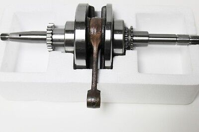 Chinese Scooter Crank Shaft for 22 tooth oil pump  GY6/QMB139 50cc