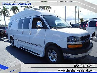 2012 Chevrolet Express  2012 ROADTREK CUSTOM HIGHTOP CAMPER LIKE NEW RV CONVERSION VAN LOW MILES ONE OWN