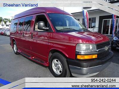 2006 Chevrolet Express  2006 CUSTOM HIGH TOP CONVERSION VAN LEATHER GOOD CONDITION 7 PASSENGER CAPTAIN