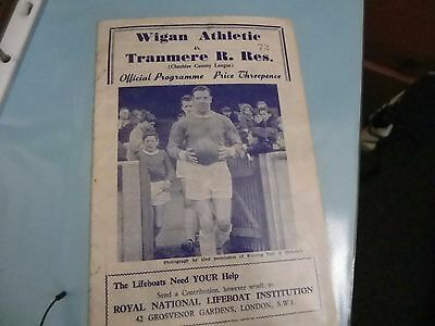 Wigan Athletic    V    Tranmere Rovers    18 April1964