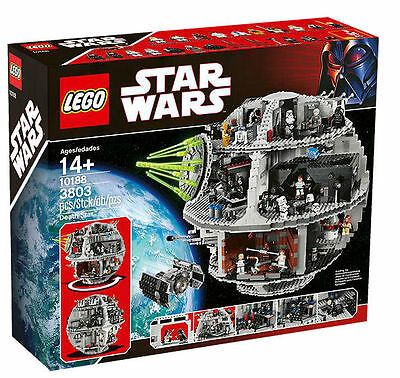 LEGO Star Wars Death Star 2008 (10188) Brand New Factory Sealed!! RETIRED!!!