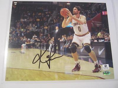 Kevin Love Cleveland Cavaliers signed 8x10 Color Photo Global GA GX