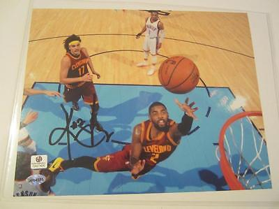 Kyrie Irving Cleveland Cavaliers signed 8x10 Color Photo Global GA G