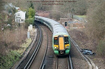 Colour Photo of GTR Southern Class 377 EMU 377143 at Balcombe 2016