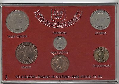 1967 Coinage Of Great Britain Coin Set***Collectors***