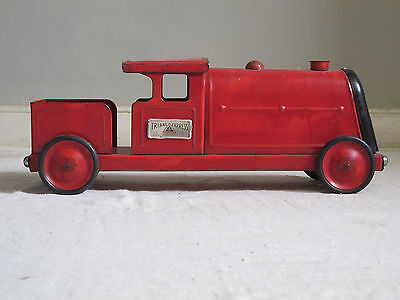 Vintage TRIANG Train Express Locomotive TRI-ANG TOYS Tinplate Toy