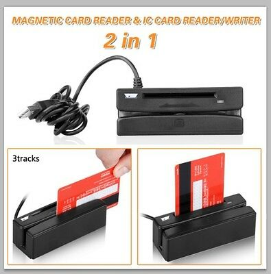USB Magnetic Card and IC Card Reader/Writer
