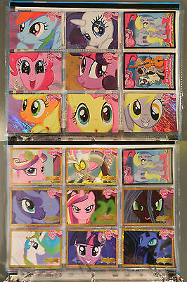 My Little Pony Trading Cards Series 1 Complete Set