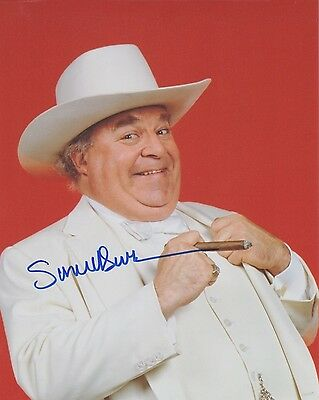 """Signed Original Color Photo of Sorrell Booke of """"The Dukes of Hazzard"""""""