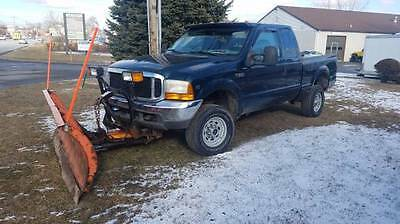 1999 Ford F-350  1999 ford f350 with plow