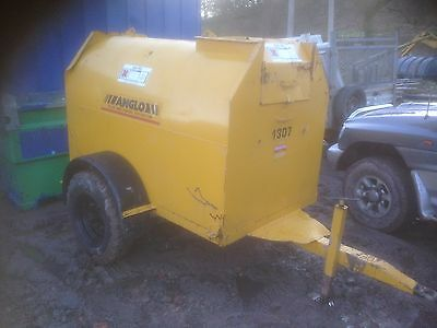 300 Gallon Diesel Bowser With Brand New 12v Pump