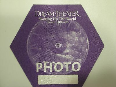 Dream Theater Tour Backstage Pass!! RARE!!! Unpeeled!!!