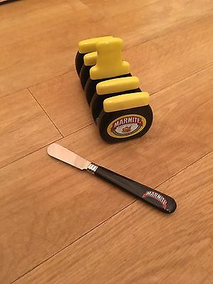 Marmite Ceramic Toast Rack And Matching Knife