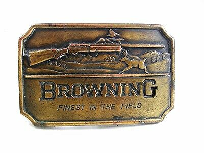 BROWING Finest In The Field Rifle Belt Buckle By INDIANA METAL CRAFT 12317