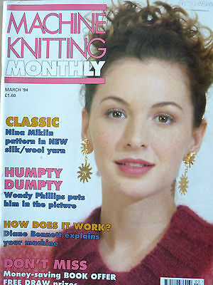 Machine Knitting Monthly March 94