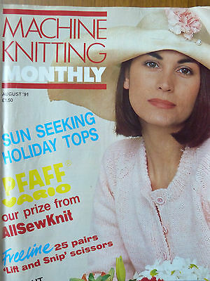 Machine Knitting Monthly August 91