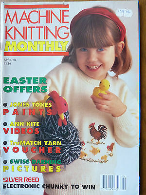 Machine Knitting Monthly April 94