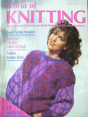 World of Knitting March 88