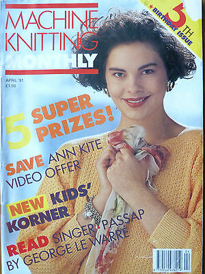Machine Knitting Monthly April 91