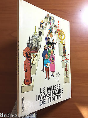 LE MUSEE IMAGINAIRE TINTIN 1980 1st Edition Exhibition Book EO Herge