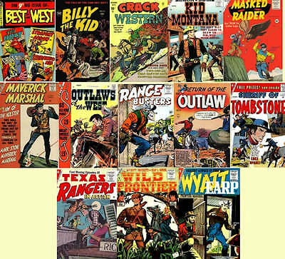 Western Comics Collection 172 Golden Age Issues on DVD -  Disk 3