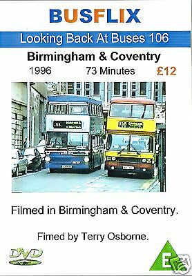 Looking Back at Buses 106 Birmingham & Coventry 1996 73 minutes