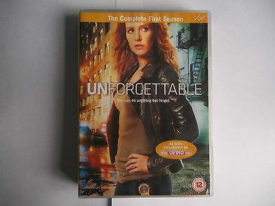 Unforgettable - Series 1 - Complete (DVD, 2012, 6-Disc Set) *New and Sealed*