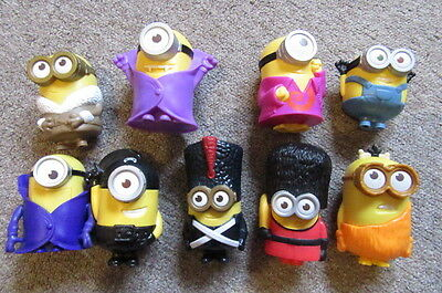 A Bundle, Job Lot of McDonald`s Happy Meal Toy The Minions Used