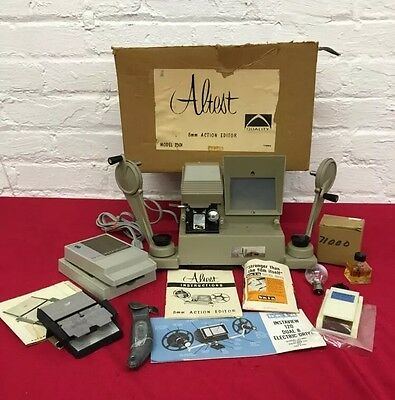 Vintage Altest 8mm action editor w/ Accessories