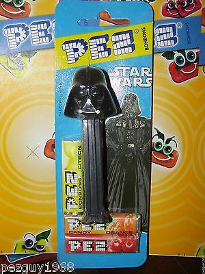 Pez Darth Vader, Mint on Euro Card