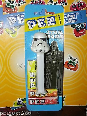 Pez Stormtrooper, Mint on Euro Card