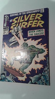 Silver Surfer #2 (Oct 1968) -Very High Grade-Unrestored O/W-W -ORIGINAL OWNER
