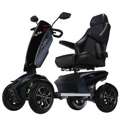 VITA SPORT S12S Electric Mobility Scooter Luxury Fast PMV Speed 12mph Heartway