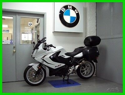 BMW F 800 GT 2013 BMW F 800 GT Saddle Bags Top Trunk Comfort Seat Akrapovic Exhaust F800GT