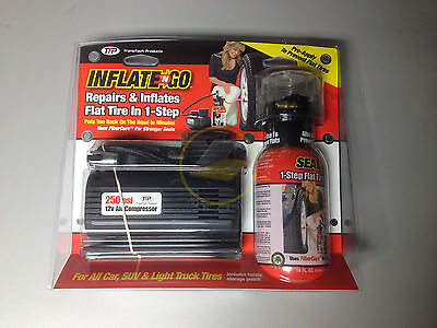 **New** Inflate 'n Go Tire Repair Kit - Inflates Flat Tire In 1 Step
