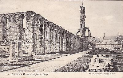 The Cathedral From The East, ST. ANDREWS, Fife