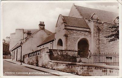 Andrew Carnegie Birthplace Memorial, DUNFERMLINE, Fife RP