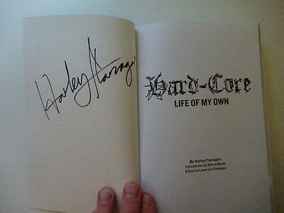 *** Harley Flanagan * Cro-Mags * Autographed Signed New Book * Ramones * Nyhc