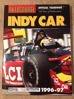 Autocourse Official Yearbook Indy Car 1996-1997