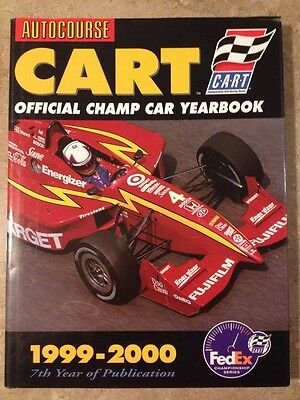 Autocourse Cart Official Champ Car Yearbook 1999-2000 Max Papis Autograph