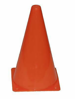 JFIT Agility Cones, Orange, 12-Inch