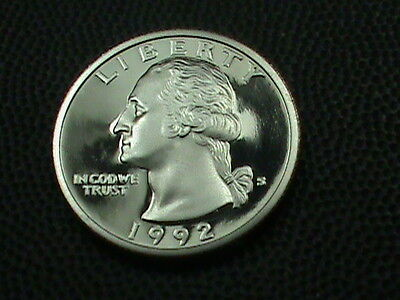 UNITED STATES    25 cents    1992  -  S    PROOF