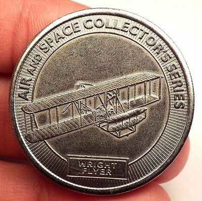 Smithsonian Institution Air Space Museum Collector's Series Token WRIGHT FLYER