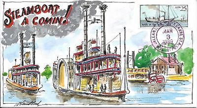 """WILD HORSE HP STEAMBOATS  """"STEAMBOAT A COMIN!""""     Sc 2409"""
