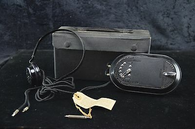 Antique DICTOGRAPH Early Dictation Machine ACOUSTICON PRODUCTS  Bakelite RARE c3