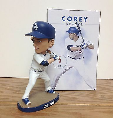 Dodgers Corey Seager Bobblehead SGA 8/25/16-New in Box! 2016 Rookie of the Year!